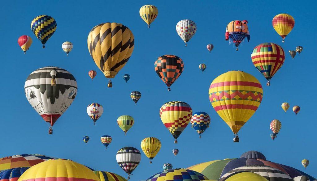 Online bekannter werden und weithin sichtbar wie ein Heißluftballons