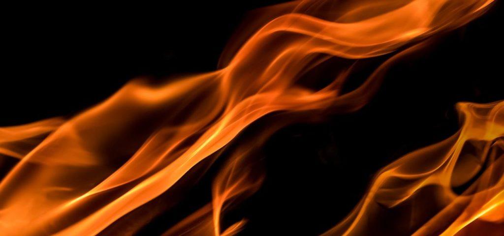 Flammen Gefahr