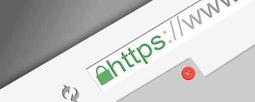 Browserleiste https, SSL zertifikat Hosting