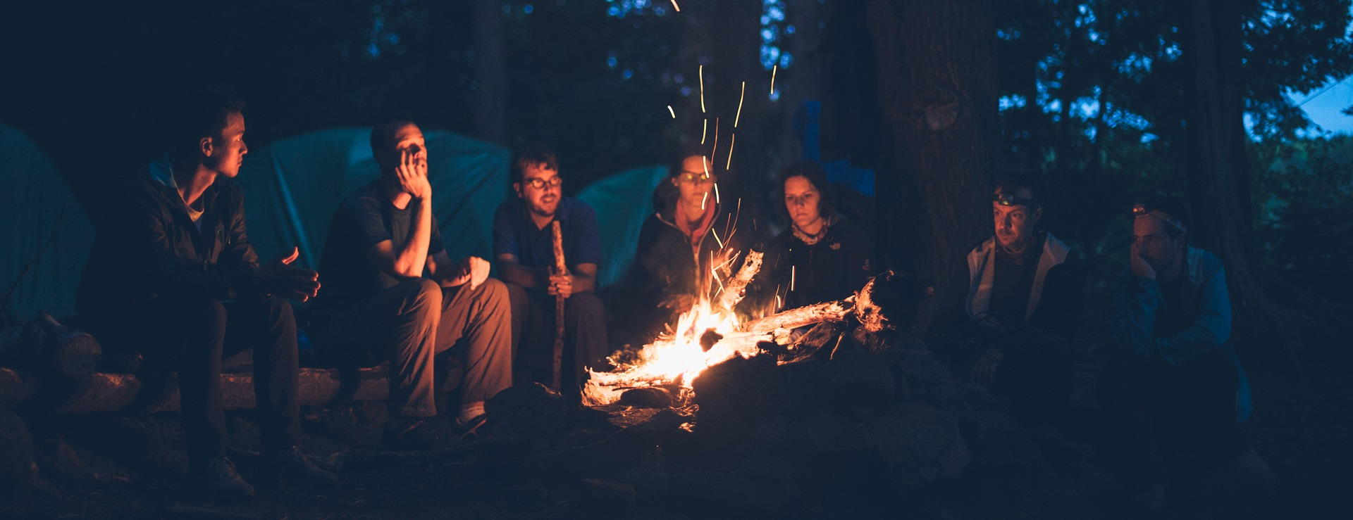 Storytelling am Lagerfeuer